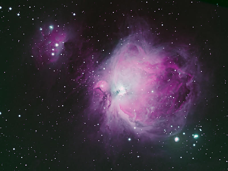 2010-12-24 - Great Orion Nebula and Running Man Nebula - Process1