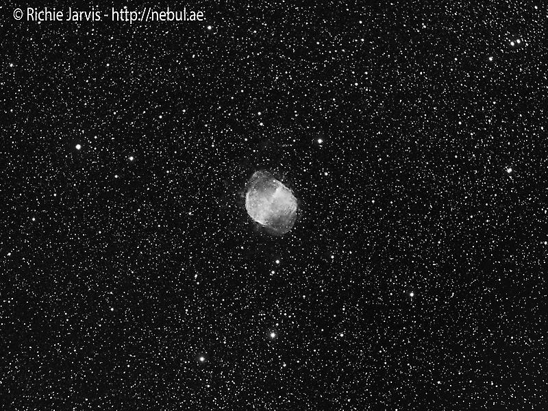 2015-05-18 - Messier 27 in Ha