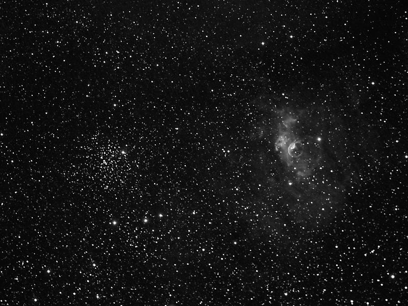 2010-08-14 Bubble Nebula and M52