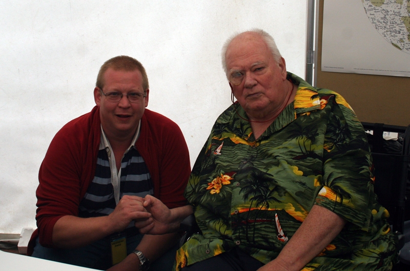 Meeting Sir Patrick Moore