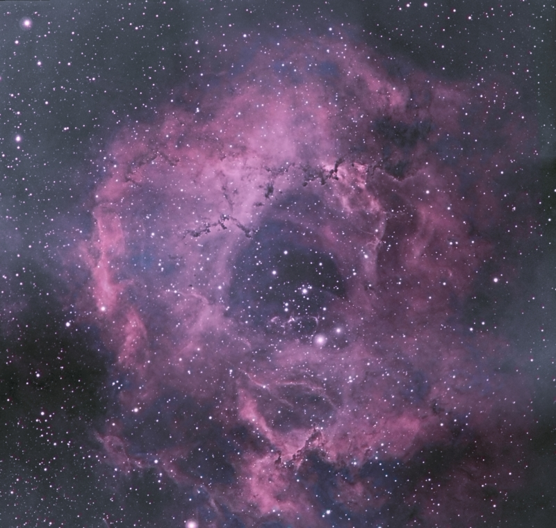 2010-03-01 - Rosette Nebula - Colour Process1