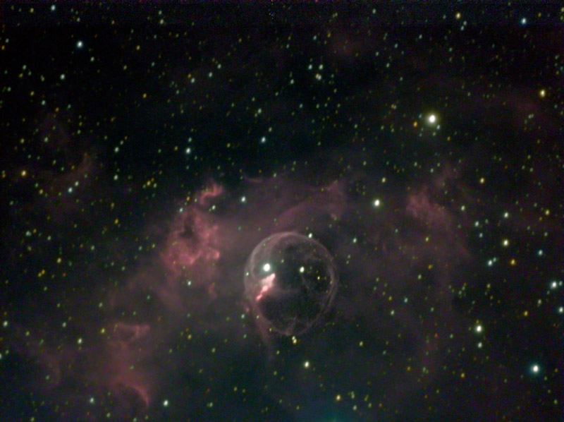 2008-11-18 - Bubble Nebula
