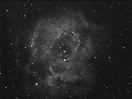 2011-03-04 - Rosette Nebula from IoW Star Party 2011 - Second Processing