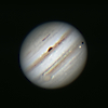 2011-10-22 - Jupiter and Io in shadow transit